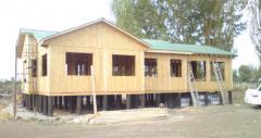 Modelo Casa Prefabricada 120 mts².  ←anterior