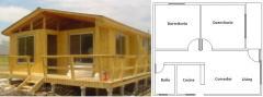 Casa prefabricada modelo 60mts2