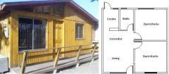 Casa prefabricada modelo 36mts2