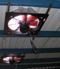 Extractores, Ventilación industrial