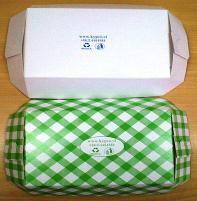 Bandejas de Cartón o Polipapel