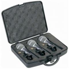 Set de 3 micrófonos dinámicos DM2.0S-3 con switch