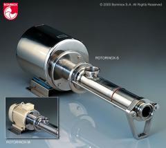 ROTORINOX - Bomba volumétrica sanitaria de rotor helicoidal