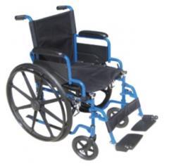 Silla de Ruedas, marca Drive Medical Blue Streak BLS18FBD-SF