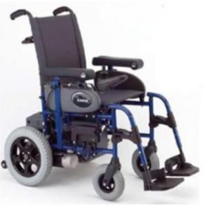 Silla de Ruedas Eléctrica, marca Sunrise Medical Powertec F35