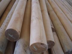 Rollizos Cilindrados, Rounded Poles
