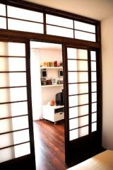Separadores de ambiente, puertas corredizas, shoji door , Casas
