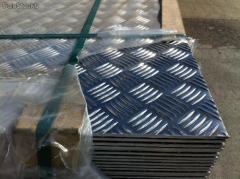 Planchas de aluminio diamantado