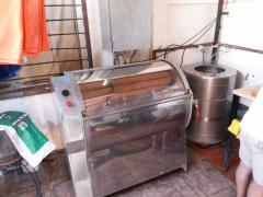 Lavadora industrial y centrifugas
