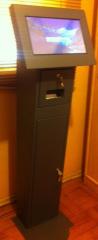 Kiosco Totem Touch para atender por computador