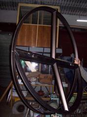 Ventanas redonda fija en Aluminio y PVC