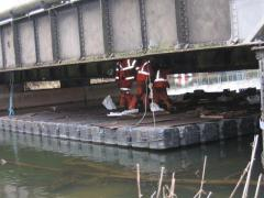 Plataformas y muelles flotantes
