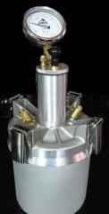 Airimetro para uso en mecanica de suelos y la construcción