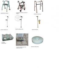Andador simple con y sin ruedas o asiento