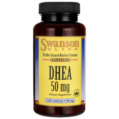 Dhea Laboratorio Swanson, 120 Cáspulas de 50Mg.