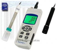 Medidor de pH PCE-PHD 1