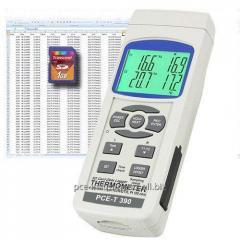 Termómetro de varios canales PCE-T390