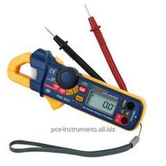 Pinza amperimétrica PCE-DC2