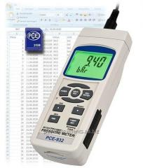 Medidor de presión PCE-932