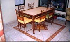 Muebles Solar. Tipo de comedor