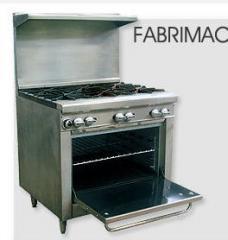 Cocinas y planchas Industriales