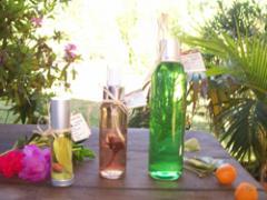 Gel de baño, Manzanas verdes. Pino Cipres, Romero