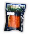 Salmon ahumado.