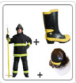 Bomberos Kit de Proteccion 1
