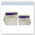 Sticks of cotton