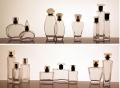 Frascos de vidrio cosmeticos