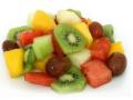Frutas en cubos