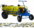 Spraying machines