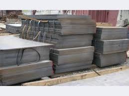 Pedido Suministro de aceros