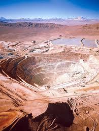 Pedido Desarrollo y explotación de minas de Cobre