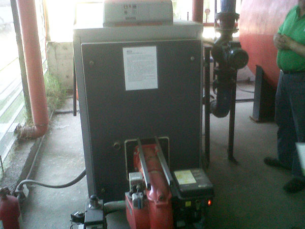 Pedido Mantención y Reparación de Calderas a Gas