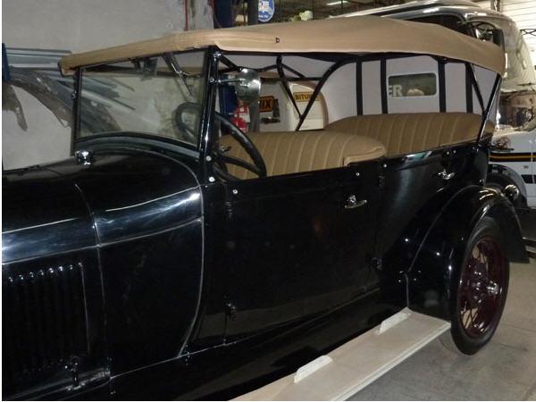 Pedido Tapiceria y restauracion de autos clasicos