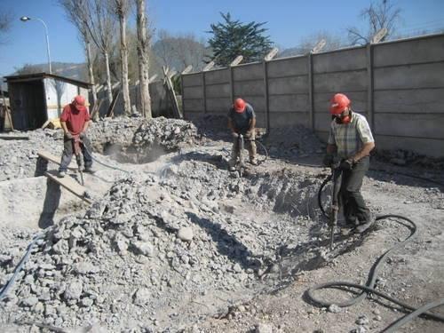 Pedido Servicio integral de demolición
