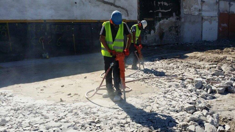 Pedido Servicio de demoliciones menores