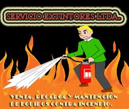 Pedido Venta, recargas y mantención de extintores