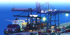 Transporte internacional en contenedores marítimos