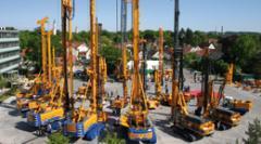 Producción de maquinaria para la construcción