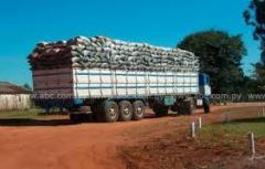 Exportación de briquetas
