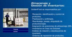 Servicios de Almacenaje y Gestion de Inventarios