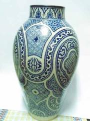 Jarrón de ceramica de 80 cm. de alto