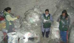 Recolección y reciclaje de plástico