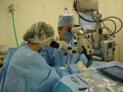 Suministro de equipo oftalmológico