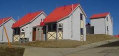 Construcción de viviendas sociales