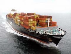Transporte carga maritima en general
