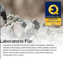 Servicio de laboratorios fijos