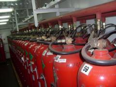 Servicios a Sistemas contra Incendio, Respiración & otros Equipos relacionados